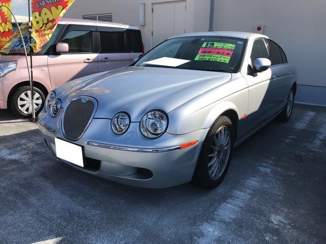 沖縄の中古車 ジャガー Sタイプ 車両価格 99.8万円 リ済別 2007(平成19)年 2.5万km シルバー