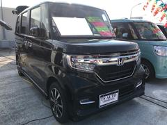 N BOXカスタムG・L 軽自動車 LED クリスタルブラックパール 整備付