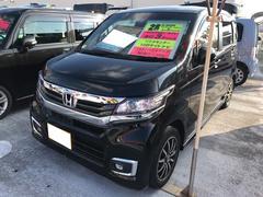 N−WGNカスタムG・Lパッケージ ナビ 軽自動車 ETC ブラック CVT