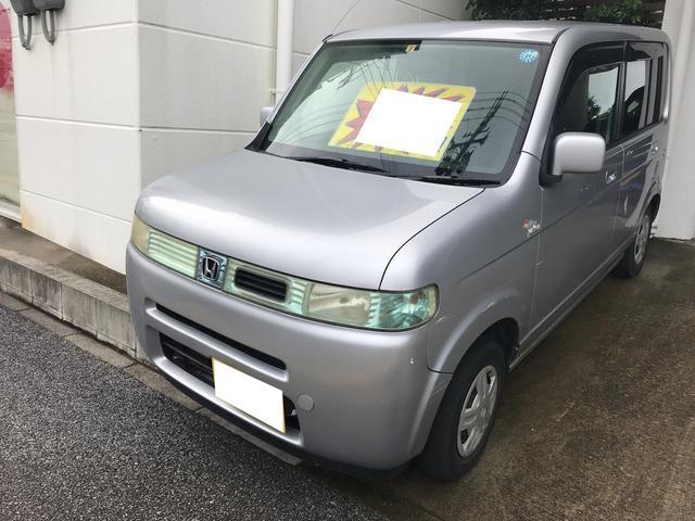 沖縄の中古車 ホンダ ザッツ 車両価格 9.9万円 リ済込 平成16年 12.6万km サテンシルバーメタリック