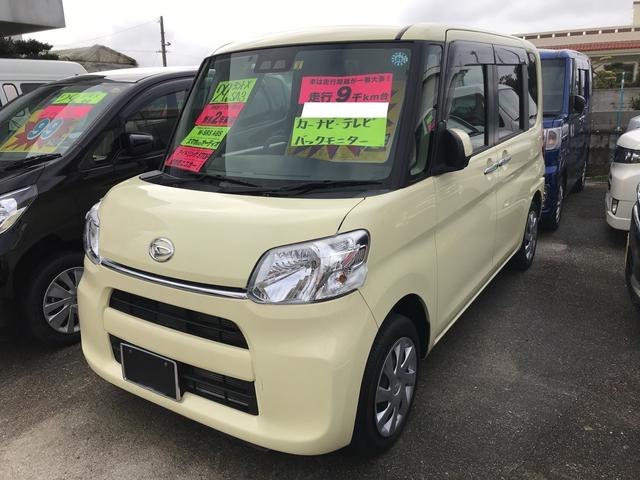 沖縄の中古車 ダイハツ タント 車両価格 119万円 リ済別 平成29年 1.0万km コットンアイボリー