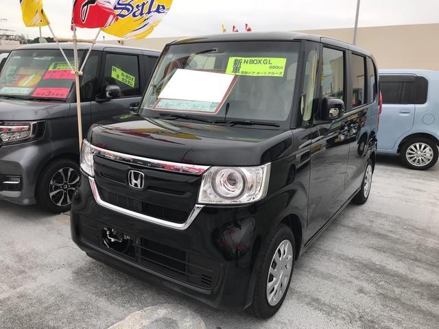 沖縄の中古車 ホンダ N-BOX 車両価格 179万円 リ済別 新車  クリスタルブラックパール