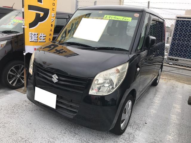沖縄の中古車 スズキ パレット 車両価格 45.9万円 リ済別 平成20年 6.3万km ブルーイッシュブラックパール3