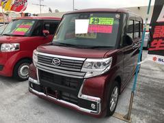 タントカスタム TOPエディション ナビ 軽自動車 レッド CVT