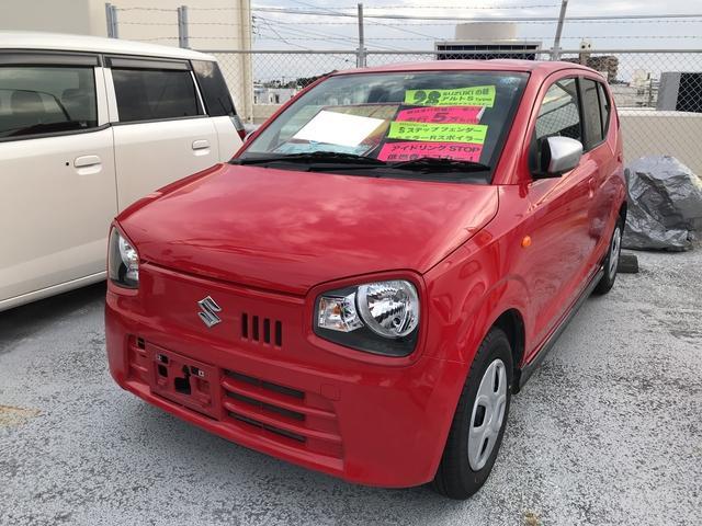スズキ S 軽自動車 レッド CVT 保証付 AC 修復歴無