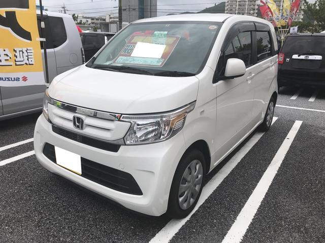 沖縄県の中古車ならN-WGN AC オーディオ付 CVT ホワイト 電格ミラー