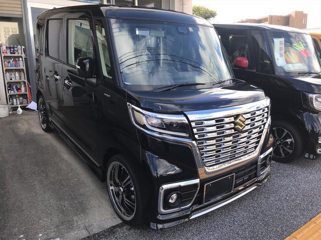 沖縄県豊見城市の中古車ならスペーシアカスタム ハイブリッドXSターボ フルオプション付き