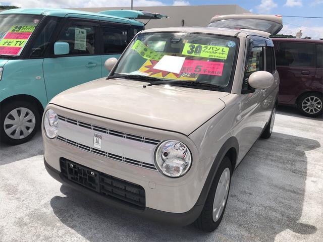 沖縄の中古車 スズキ アルトラパン 車両価格 99.8万円 リ済別 2018(平成30)年 0.5万km フォーンベージュメタリック