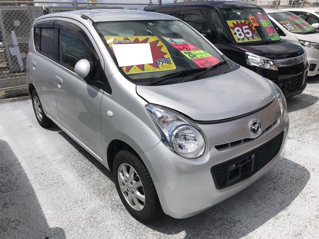 沖縄の中古車 マツダ キャロル 車両価格 36万円 リ済別 2013(平成25)年 7.0万km シルキーシルバーメタリック