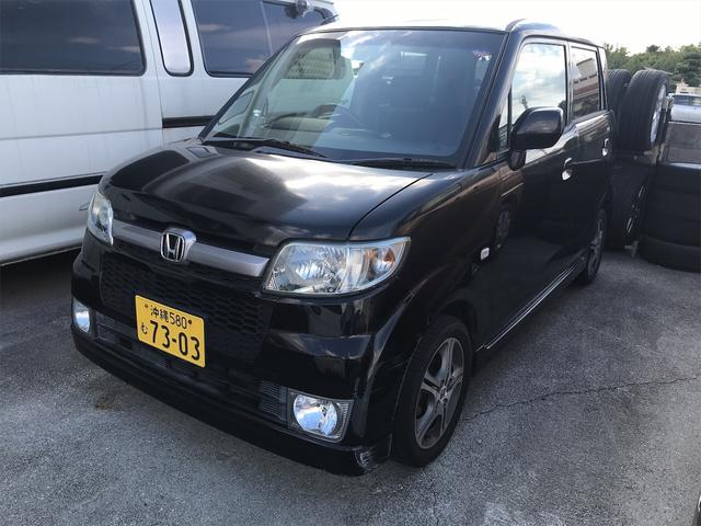 沖縄の中古車 ホンダ ゼスト 車両価格 19万円 リ済別 2005(平成17)年 11.8万km ブラック