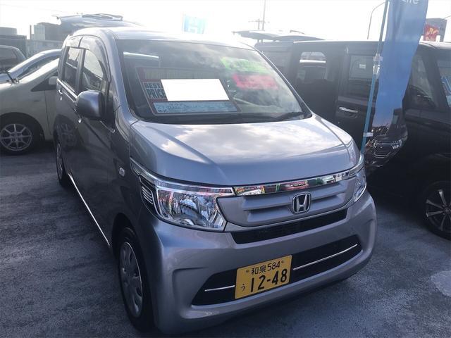 沖縄の中古車 ホンダ N-WGN 車両価格 99万円 リ済別 2017(平成29)年 1.2万km シルバー