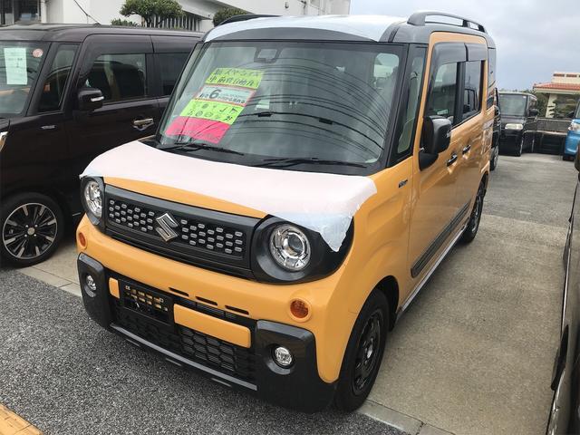 沖縄県の中古車ならスペーシアギア 軽自動車 衝突被害軽減システム イエローII CVT
