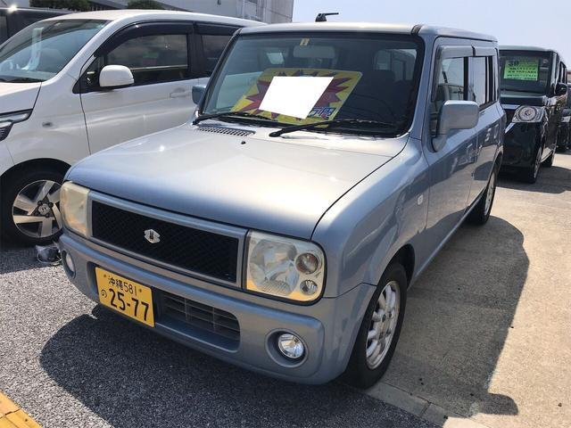 沖縄の中古車 スズキ アルトラパン 車両価格 6.9万円 リ済別 2003(平成15)年 10.3万km ライトブルーM