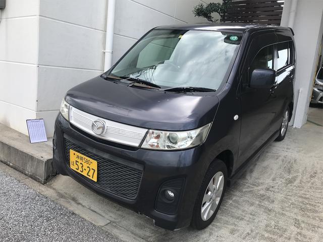 沖縄県の中古車ならAZワゴンカスタムスタイル  CD スマートキー 電動格納ミラー ベンチシート AT アルミホイール エアコン パワーステアリング