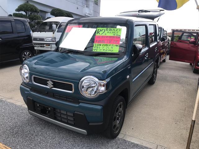 沖縄の中古車 スズキ ハスラー 車両価格 169.8万円 リ済込 2020(令和2)年 0.5万km ダークブルーII