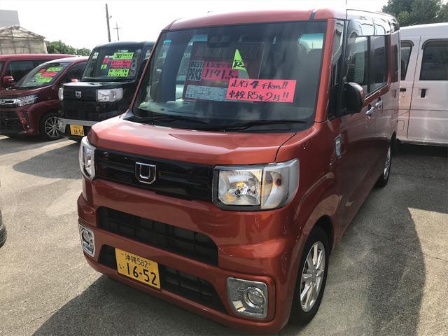 沖縄の中古車 ダイハツ ウェイク 車両価格 159.8万円 リ済込 2020(令和2)年 0.5万km オレンジM