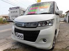 沖縄の中古車 スズキ パレットSW 車両価格 65万円 リ済込 平成24年 9.8万K パールホワイト
