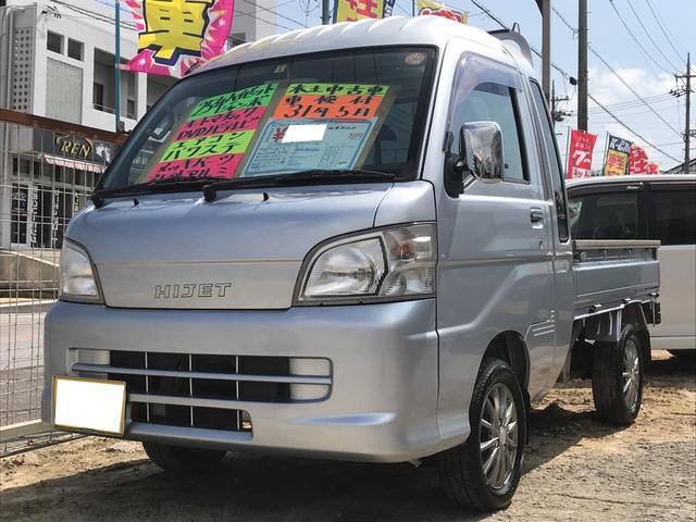 沖縄の中古車 ダイハツ ハイゼットトラック 車両価格 69万円 リ済込 平成25年 11.7万km シルバー