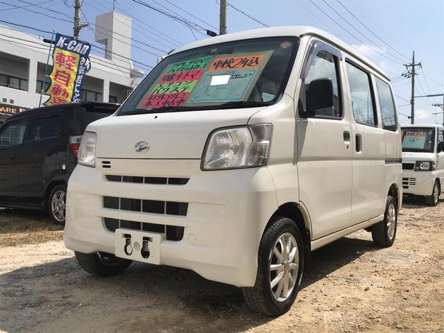 沖縄の中古車 ダイハツ ハイゼットカーゴ 車両価格 42万円 リ済込 平成24年 10.2万km ホワイト