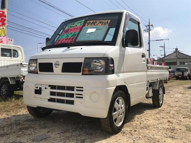 沖縄の中古車 日産 クリッパートラック 車両価格 46万円 リ済込 平成22年 10.6万km ホワイト