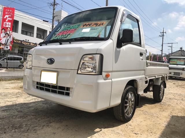 沖縄の中古車 スバル サンバートラック 車両価格 43万円 リ済込 平成22年 8.4万km ホワイト
