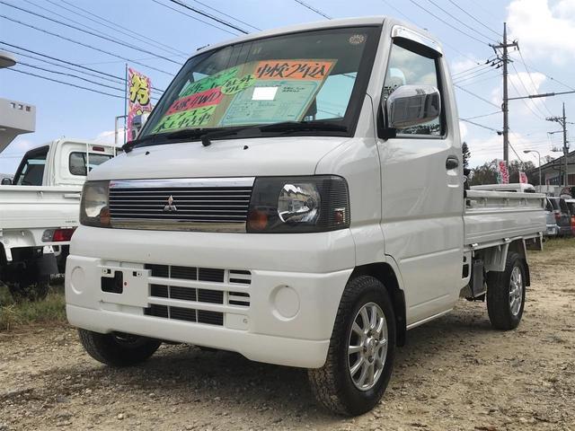 沖縄の中古車 三菱 ミニキャブトラック 車両価格 43万円 リ済込 平成16年 9.2万km ホワイト