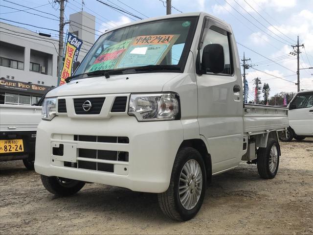 沖縄の中古車 日産 クリッパートラック 車両価格 36万円 リ済込 平成24年 16.0万km ホワイト