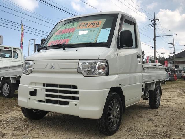 沖縄の中古車 三菱 ミニキャブトラック 車両価格 42万円 リ済込 平成24年 12.7万km ホワイト
