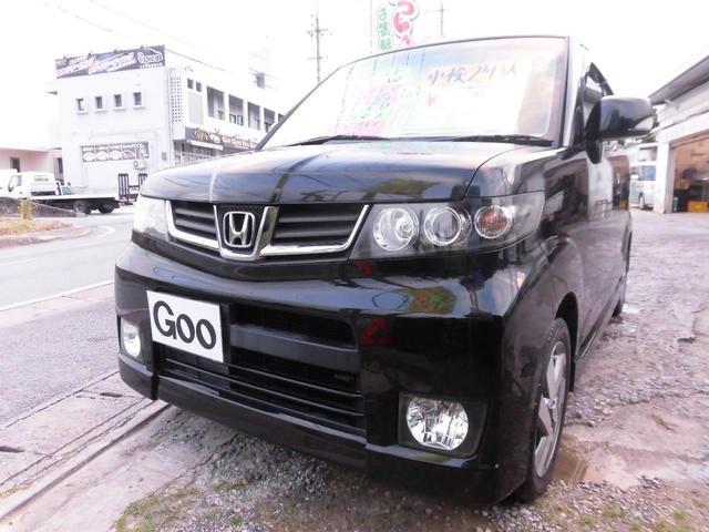 沖縄の中古車 ホンダ ゼストスパーク 車両価格 38万円 リ済込 平成21年 10.5万km ブラックM