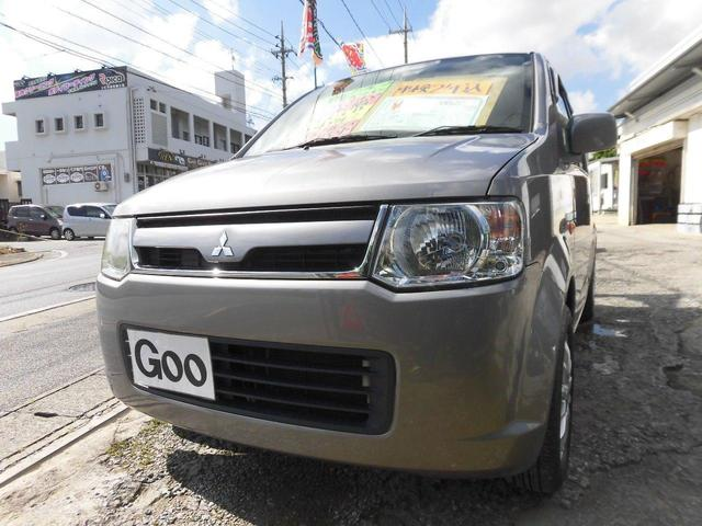 沖縄県の中古車ならeKワゴン M 本土中古車 CD アルミ シートカバー