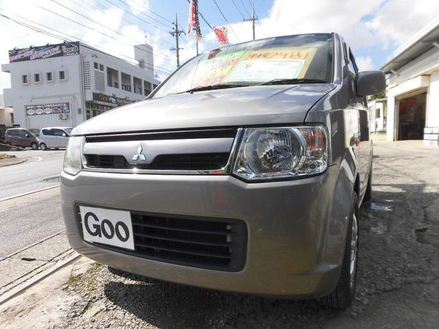 沖縄の中古車 三菱 eKワゴン 車両価格 24万円 リ済込 2008(平成20)年 8.8万km グレーM