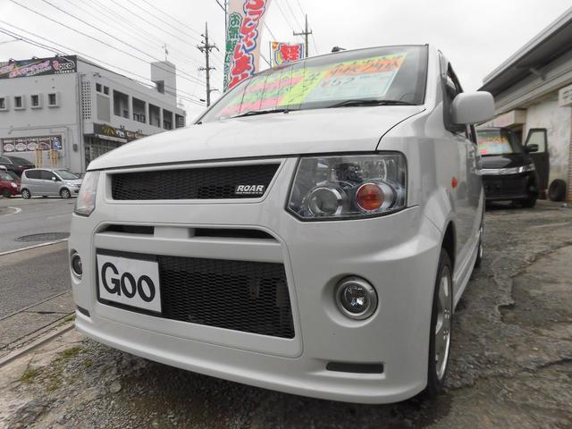沖縄の中古車 三菱 eKスポーツ 車両価格 42万円 リ済込 2010(平成22)年 10.5万km パールホワイト