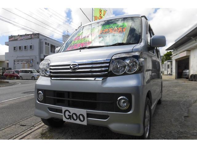 沖縄の中古車 ダイハツ アトレーワゴン 車両価格 89万円 リ済込 2014(平成26)後 11.0万km シルバーM
