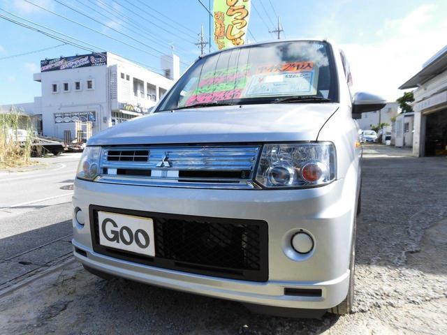 沖縄の中古車 三菱 トッポ 車両価格 29万円 リ済込 2011(平成23)後 7.1万km シルバーM