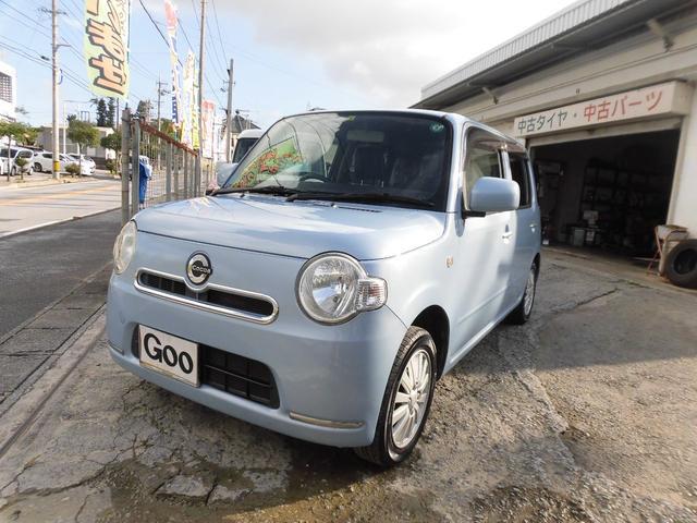 沖縄の中古車 ダイハツ ミラココア 車両価格 46万円 リ済込 2013(平成25)後 10.0万km ライトブルーM