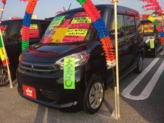 沖縄の中古車 三菱 eKスペース 車両価格 92万円 リ済込 平成27年 5.8万K ブラックマイカ