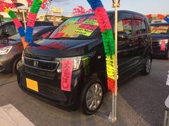 沖縄の中古車 ホンダ N−WGN 車両価格 93万円 リ済込 平成27年 7.5万K ブラック