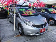 沖縄の中古車 日産 ノート 車両価格 83万円 リ済込 平成28年 7.7万K シルバー