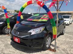 沖縄の中古車 日産 ノート 車両価格 86万円 リ済込 平成28年 7.2万K ブラック