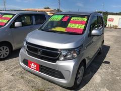 沖縄の中古車 ホンダ N−WGN 車両価格 85万円 リ済込 平成27年 4.5万K シルバー