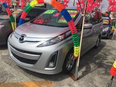 沖縄の中古車 マツダ ビアンテ 車両価格 110万円 リ済込 平成24年 6.7万K シルバー