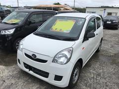 沖縄の中古車 ダイハツ ミラ 車両価格 25万円 リ済込 平成24年 5.1万K ホワイト