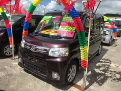 沖縄の中古車 ダイハツ タント 車両価格 86万円 リ済込 平成25年 5.2万K ブラウン