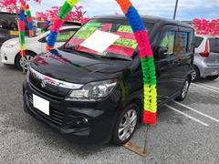沖縄の中古車 スズキ ソリオバンディット 車両価格 96万円 リ済込 平成26年 6.9万K ブルーイッシュブラックパール3