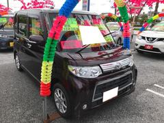 沖縄の中古車 ダイハツ タント 車両価格 91万円 リ済込 平成25年 7.4万K ミスティックレッドクリスタルメタリック