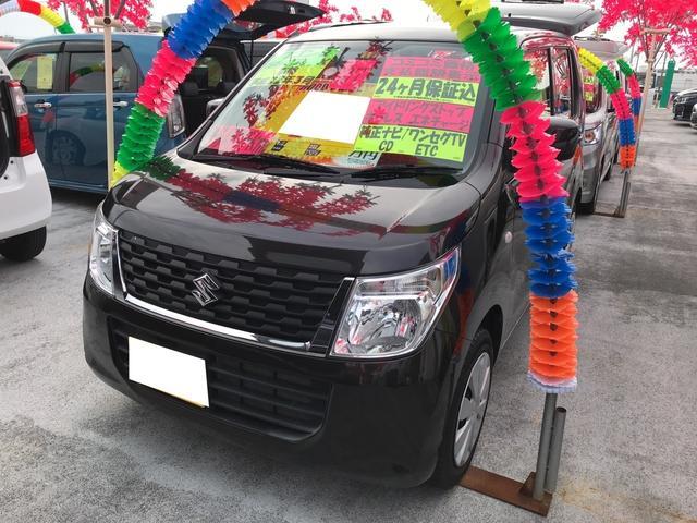 沖縄の中古車 スズキ ワゴンR 車両価格 77万円 リ済込 平成27年 4.3万km アーバンブラウンパールメタ
