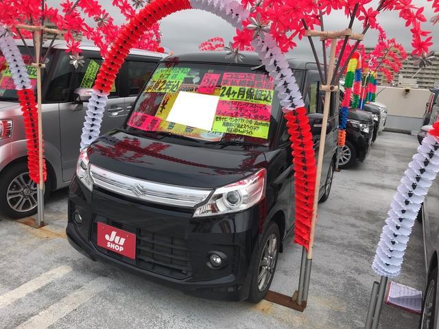 沖縄県の中古車ならスペーシアカスタム GS ナビ TV AW AC スマートキー CD