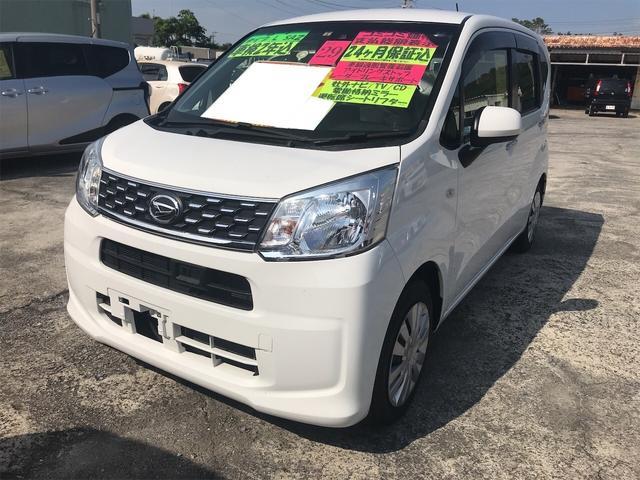 沖縄の中古車 ダイハツ ムーヴ 車両価格 72万円 リ済込 2017(平成29)年 5.8万km ホワイト