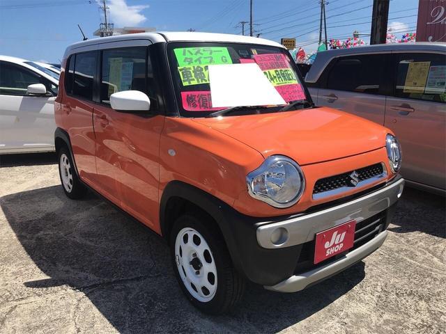 沖縄県の中古車ならハスラー G 4WD 軽減ブレーキ シートヒーター付 ETC付