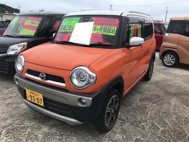沖縄県豊見城市の中古車ならフレアクロスオーバー XT レーダーブレーキ オートライト ETC ターボ スマートキー シートヒーター